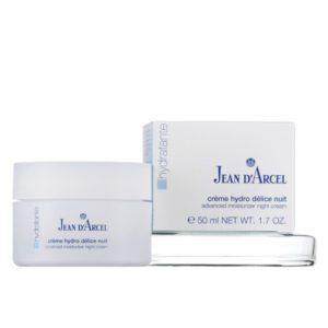 Jean Darcel, Nachtcreme für trockene Haut, mit Feuchtigkeit, oh-so-pure