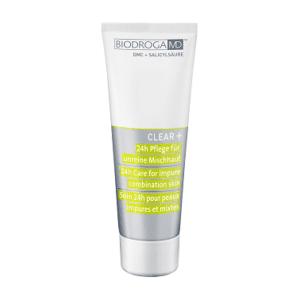 Biodroga MD 24 Stunden Pflege für unreine Mischhaut Clear+ 43622 75 ml oh-so-pure