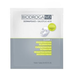Clear+ Klärende Vliesmaske Biodroga MD oh-so-pure