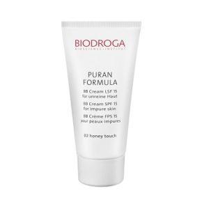 Biodroga, getönte Tagespflege für unreine Haut, oh-so-pure