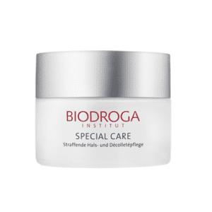 Biodroga Creme für den Hals und Dekollete, oh-so-pure