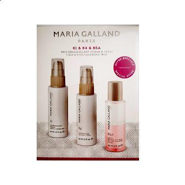 Maria Galland, Reinigungsmilch, Tonic, Augen-Make-up Entferner, oh so pure