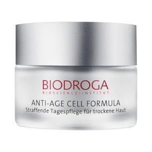 Biodroga Anti-Age Cell Formula straffende Tagespflege für trockene Haut, oh so pure