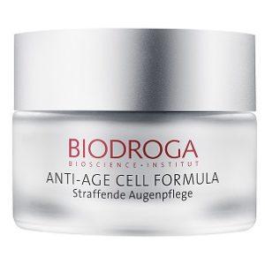 straffende Augenpflege Biodroga, oh so pure