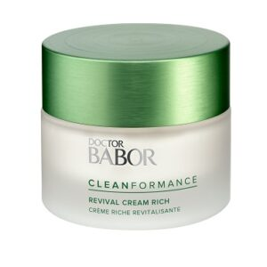 Cleanformance Revival Cream Rich, Doctor Babor, oh so pure